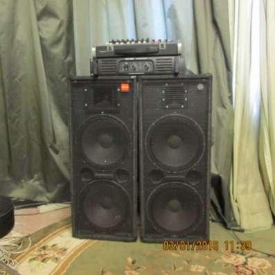 Продам комплект звуковой аппаратуры 400/