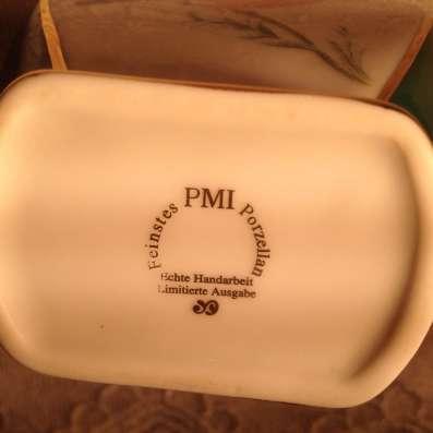 Парные вазы, фарфор, PMI, Германия