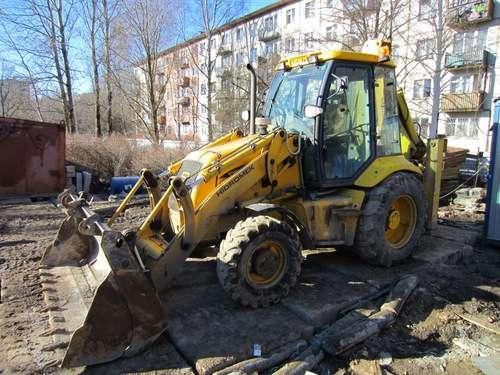 Экскаватор-погрузчик HIDROMEK 102, 2007 г. 5000 м/ч в Санкт-Петербурге Фото 4
