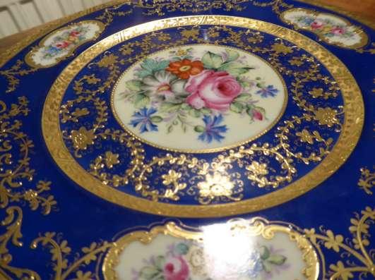 Hutschenreuther.Шикарное тарелка,золото.27 см. в г. Франкфурт-на-Майне Фото 6