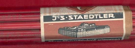 Карандаши дореволюционные J. S. Staedtler Карандаш в Орле Фото 1