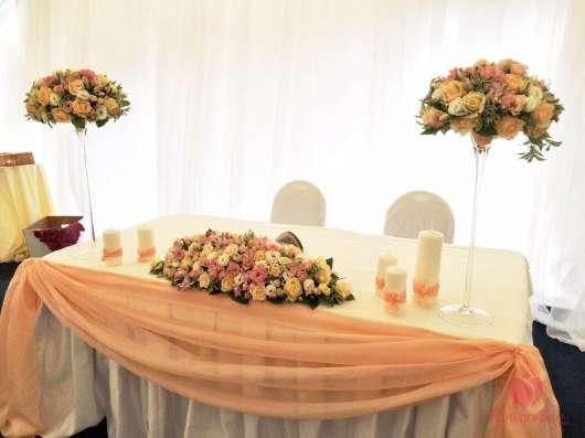 Оформление свадеб, мероприятий цветами, флористика в Москве Фото 3