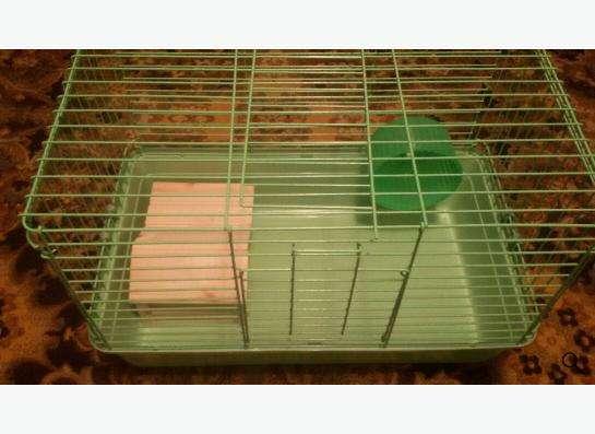 Клетка для грызунов, практически новая