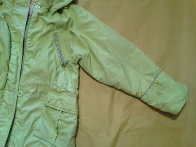 Куртка для девочки на холофайбере