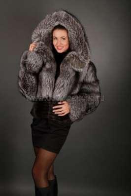 Полушубки, жакеты и меховые куртки из лисы и чернобурки в Москве Фото 3
