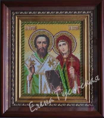 Икона Святых Киприана и Иустины