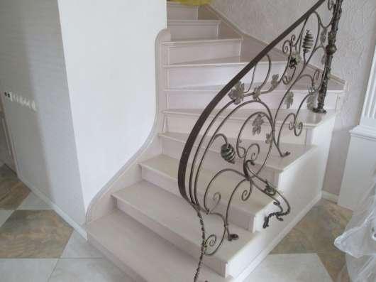 Изготовление лестниц из массива, дуб, ясень, лиственница