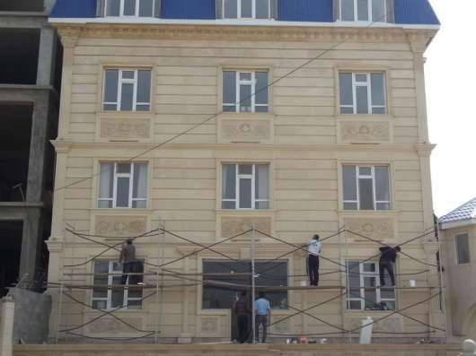 Утепление и отделка фасадов термопанелями и декором в Астрахани Фото 1