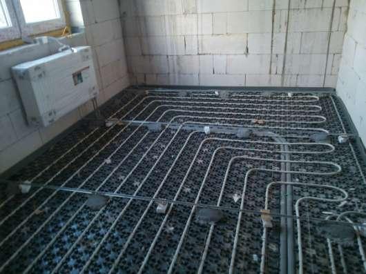 Теплые водяные полы в квартиру, дом, дачу.