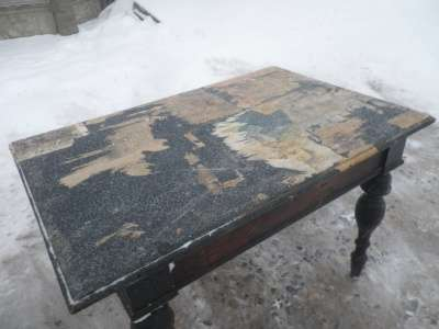 Старинный обеденный стол в Москве Фото 2