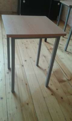 столы металл+дерево