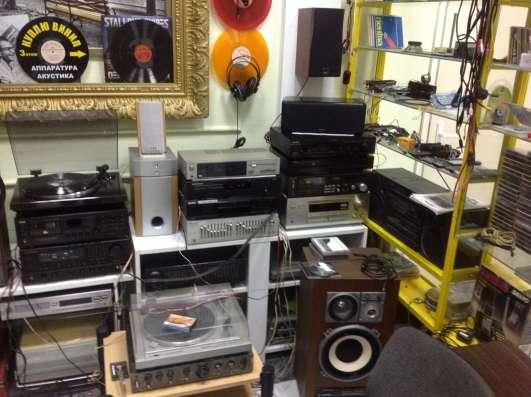 Звук аппаратура: CD, винил, АС, усилки и тд