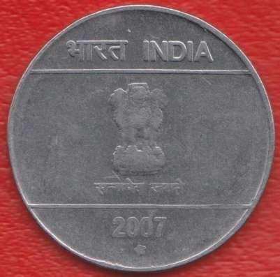 Индия 2 рупии 2007 г. в Орле Фото 1