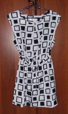 Платье -Туника р.42-44 новая лёгкая с поясом Баулы одежды и