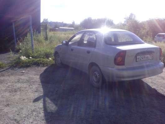 Продажа авто, ЗАЗ, Chance, Механика с пробегом 48000 км, в Тюмени Фото 1