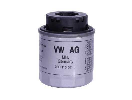 Фильтр масляный Mann на VW Polo/Skoda