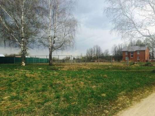 Продается участок 6.7 сотки в пос. Красный балтиец,Можайский р-он,109 км от МКАД по Минскому шоссе. Фото 1