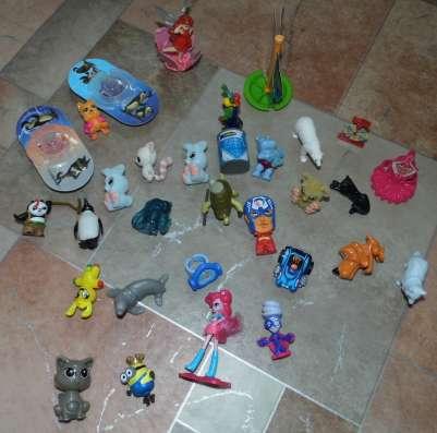 Игрушки из киндеров (киндер сюрпризов)