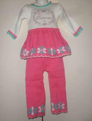 Вязанные кофты, костюмы, шапки, свитера, туники для детей