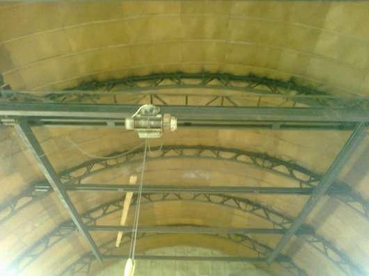 Тёплый ангар 540м2 с кран-балкой и др. оборуд-м,+территорией