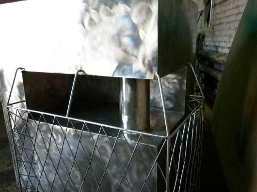 Печь из нержавеющей стали в Бердске Фото 2