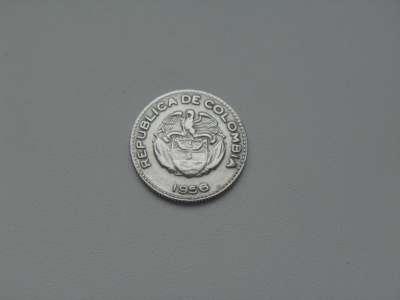 Монета 10 Сентаво 1956 год Колумбия в Москве Фото 1