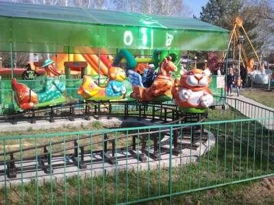 """Детская железная дорога """"Зверушки в Барнауле Фото 1"""